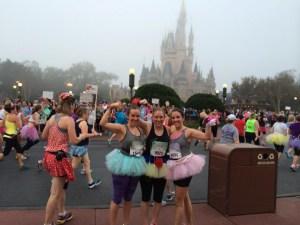 Running the Disney Princess Half Marathon with my sister Tara and friend Jenna!