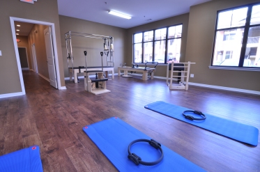 Gorgeous pilates studio at One on One Physical Therapy in Smyrna!